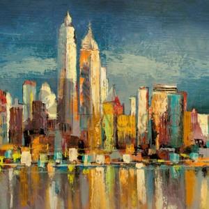 Luigi Florio - Manhattan Aqua (detail)