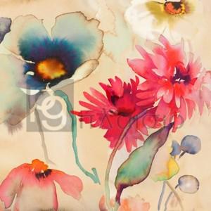 Kelly Parr - Floral Fireworks II