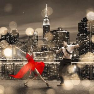 Dianne Loumer - Dancin' in the Moonlight (BW, detail)