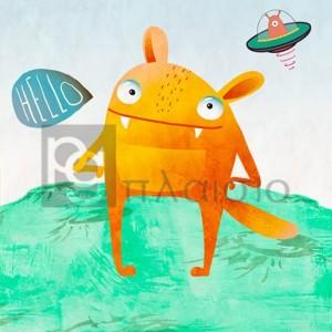 Skip Teller - Alien Friend 4