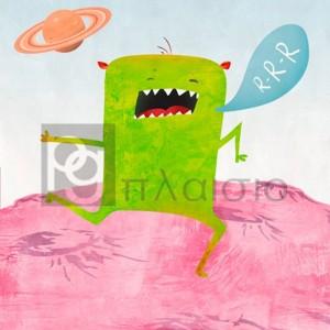 Skip Teller - Alien Friend 1