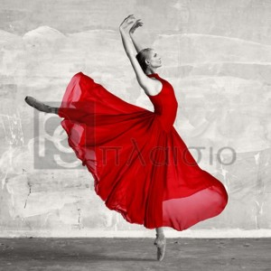 Haute Photo Collection - Ballerina in Red (detail)
