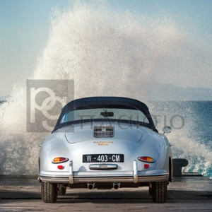 Gasoline Images - Ocean Waves Breaking on Vintage Beauties (detail 2)