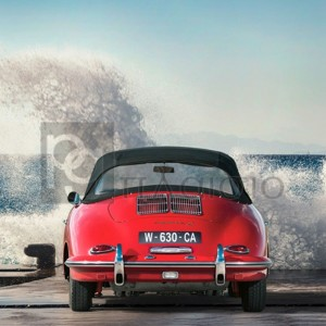 Gasoline Images - Ocean Waves Breaking on Vintage Beauties (detail 1)