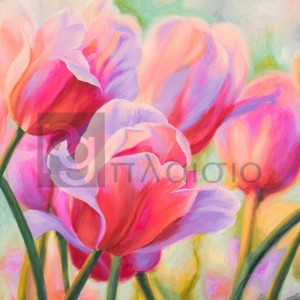Cynthia Ann - Tulips in Wonderland I