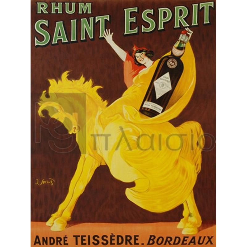 J. SPRING - Rhum Saint Esprit, 1919