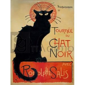 Theophile Alexandre Steinlen - Tournée du Chat Noir