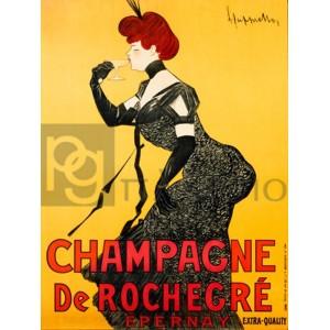 Leonetto Cappiello - Champagne de Rochegré, ca. 1902
