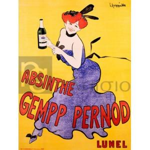 Leonetto Cappiello - Absinthe Gempp Pernod, 1903