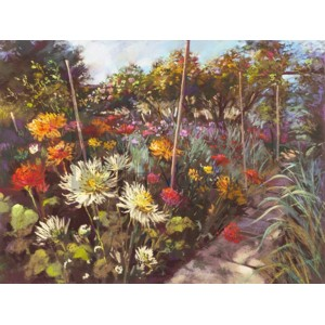 Nel Whatmore - Dusk in the Walled Garden
