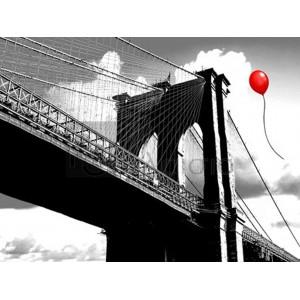 Masterfunk Collective - Balloon over Brooklyn Bridge