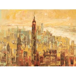 LUIGI FLORIO - Tramonto su Manhattan