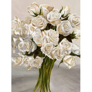 Leonardo Sanna - Bouquet Blanc II