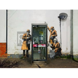 Banksy - Fairview Road and Hewlett Road in Cheltenham, Gloucestershire
