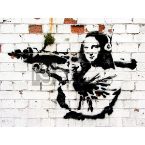 Banksy - Noel Street, Soho, London