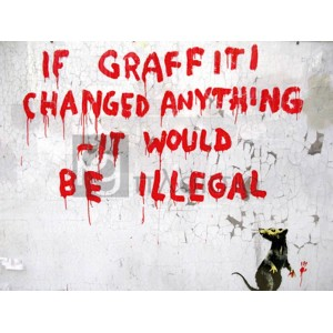 Banksy - Clipstone Street, London