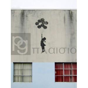 Banksy - Building in Bristol