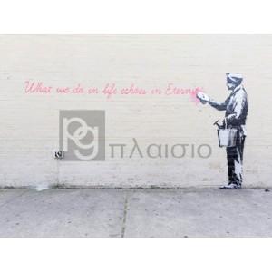 Banksy - 68th Str/38th Avenue, Queens, NYC