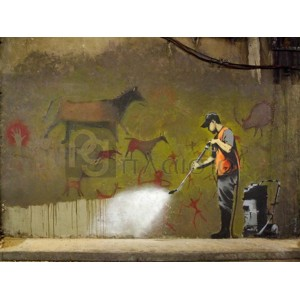 Banksy - Leake Street, London