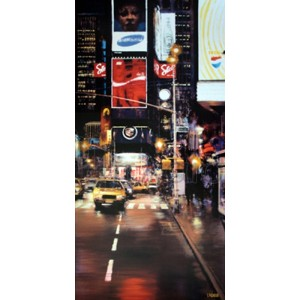 Luigi Rocca - Times Square at Night II
