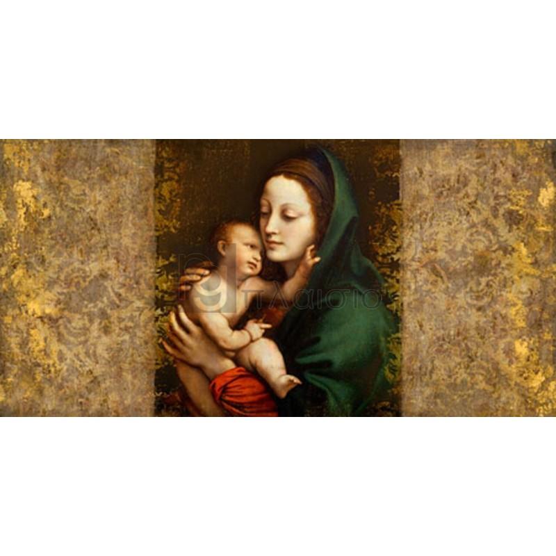 Simon Roux - Holy Virgin (Italian school)