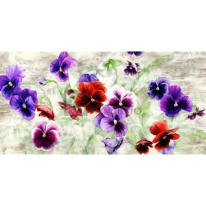 Jenny Thomlinson - Field of Pansies