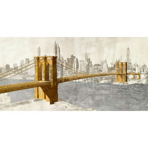 Joannoo - Gilded Brooklyn Bridge