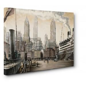 Matthew Daniels - Departure, New York