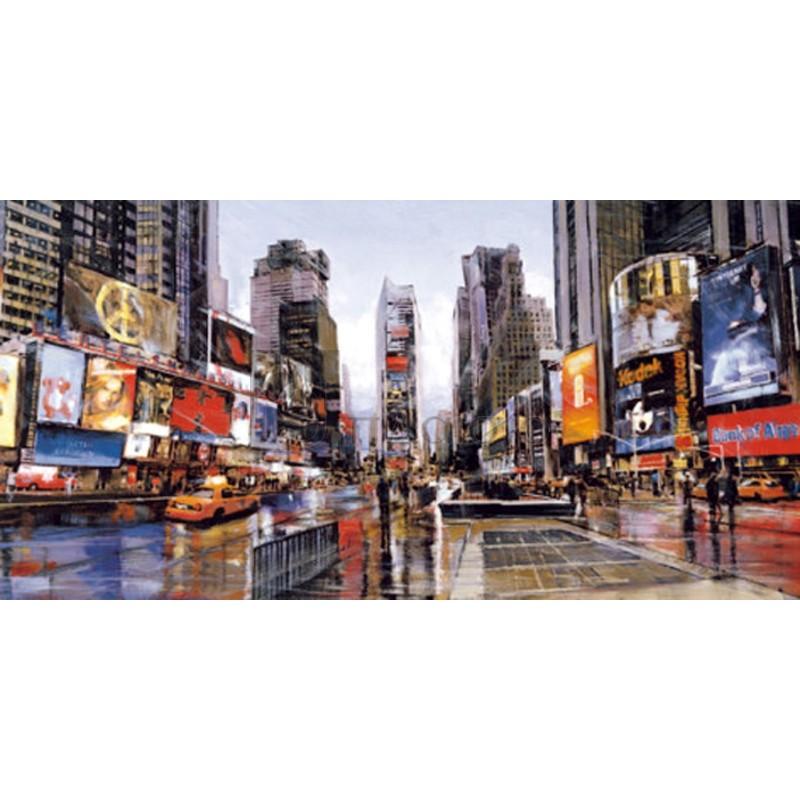 Matthew Daniels - Evening in Times Square