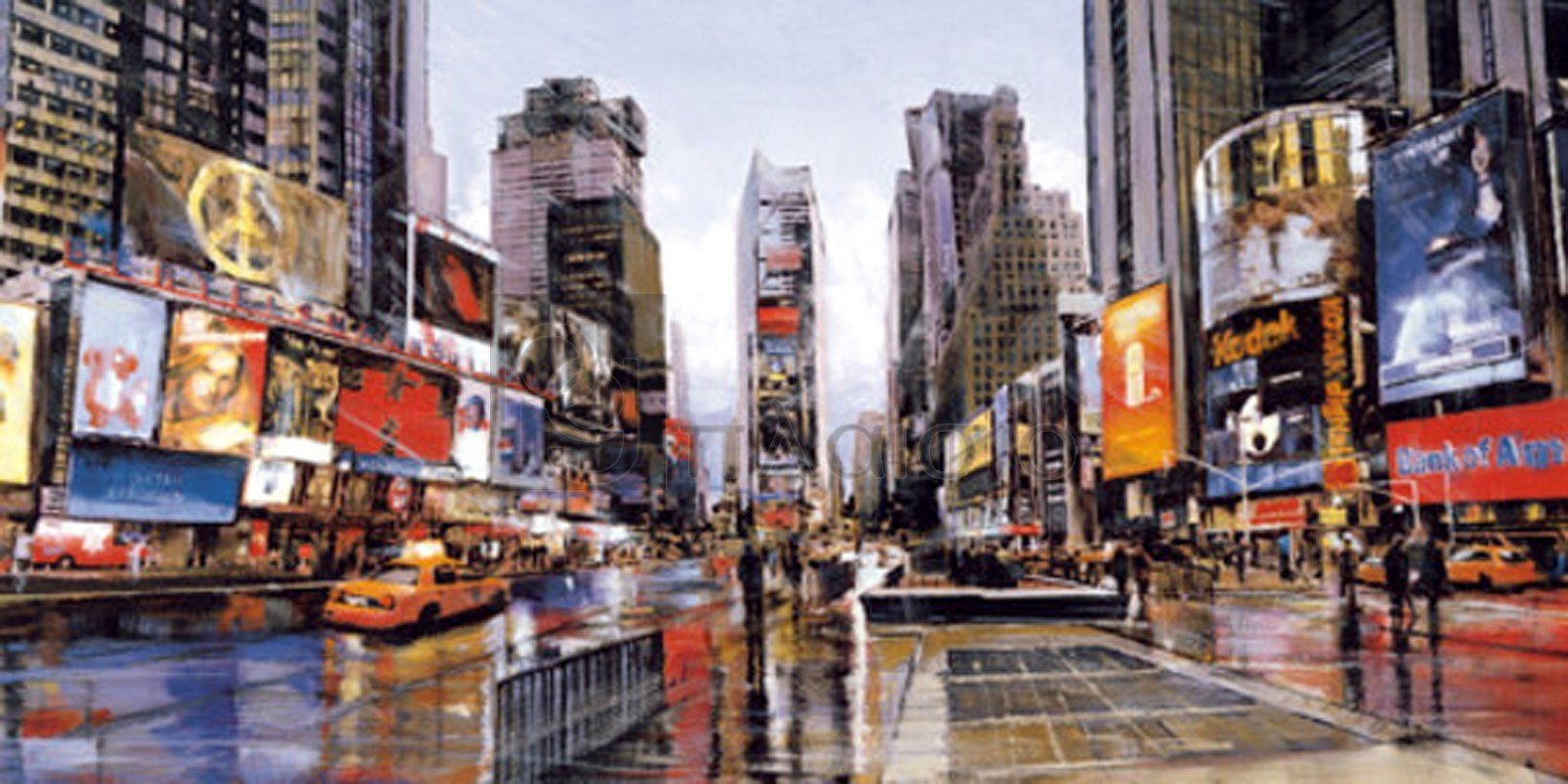 Matthew Daniels - Evening in Times Square