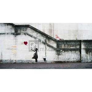 Banksy - South Bank, London