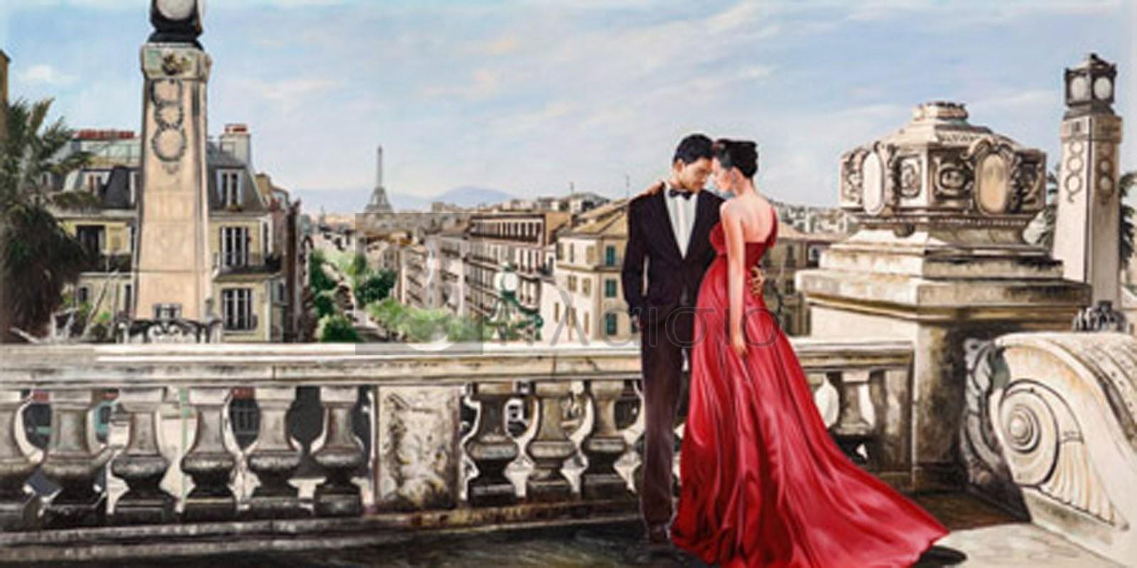 PIERRE BENSON - Lovers in Paris