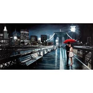 Pierre Benson - Kissing on Brooklyn Bridge