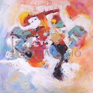 Tebo Marzari - Il pennello girava vorticosamente