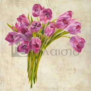 Leonardo Sanna - Bouquet de Tulipes