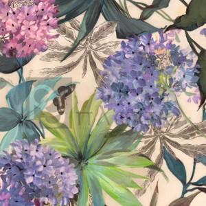Eve C. Grant - Lilac Hydrangeas