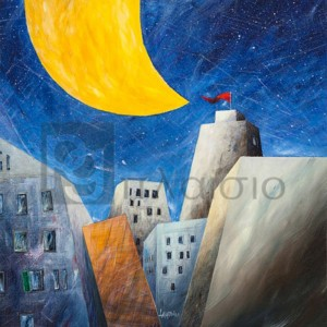 Donato Larotonda - Sotto una grande luna gialla