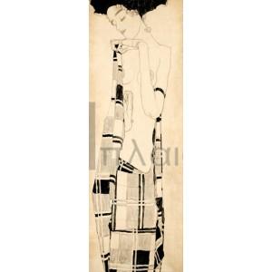Egon Schiele - Standing Girl