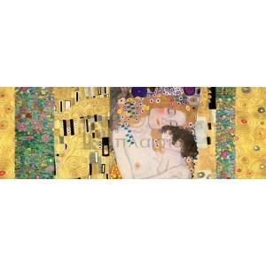 Gustav Klimt - Klimt Patterns - Deco Panel (The Three Ages of Woman)