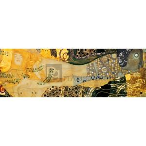 Gustav Klimt - Water Serpents I (detail)