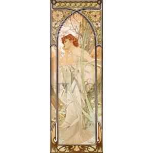 Alphonse Mucha - Times of the Day: Evening
