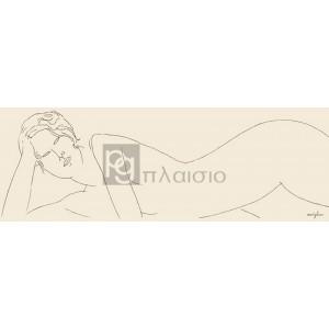 Modigliani Amedeo Clemente - Nu allongé