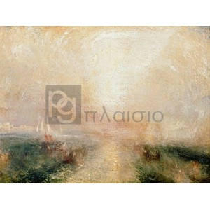 William Turner - Yacht Approaching the Coast