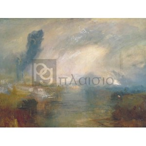 William Turner - The Thames above Waterloo Bridge