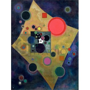 WASSILY KANDINSKY - Pink Accent