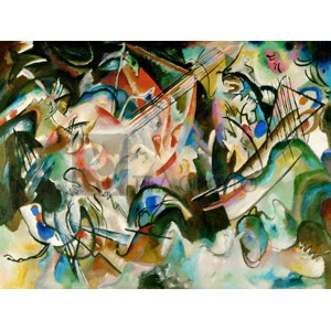 Wassily Kandinsky - Composition Number 6
