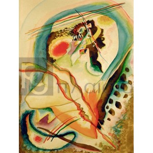 Wassily Kandinsky - Untitled composition