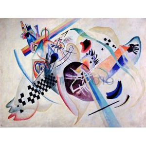 Wassily Kandinsky - Composition N. 224, On the white