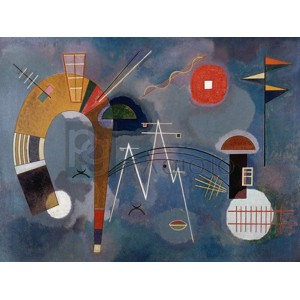 Wassily Kandinsky - Round and Pointed