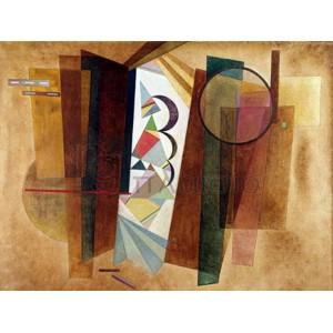 Wassily Kandinsky - Developpement en brun